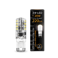 GAUSS LED CAPSULE CLEAR 3W G9 2700K