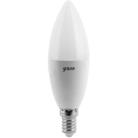 GAUSS LED DECORATIVE CANDLE 6W 2700K E14