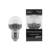 GAUSS LED BRIGHT GLOBES 5W 4100K E27